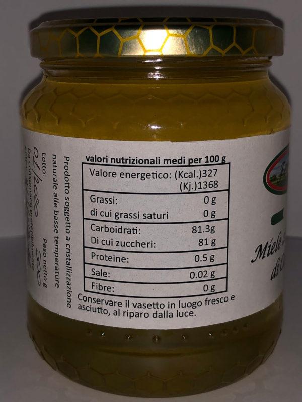 valori nutrizionali miele - azienda agricola ferraro
